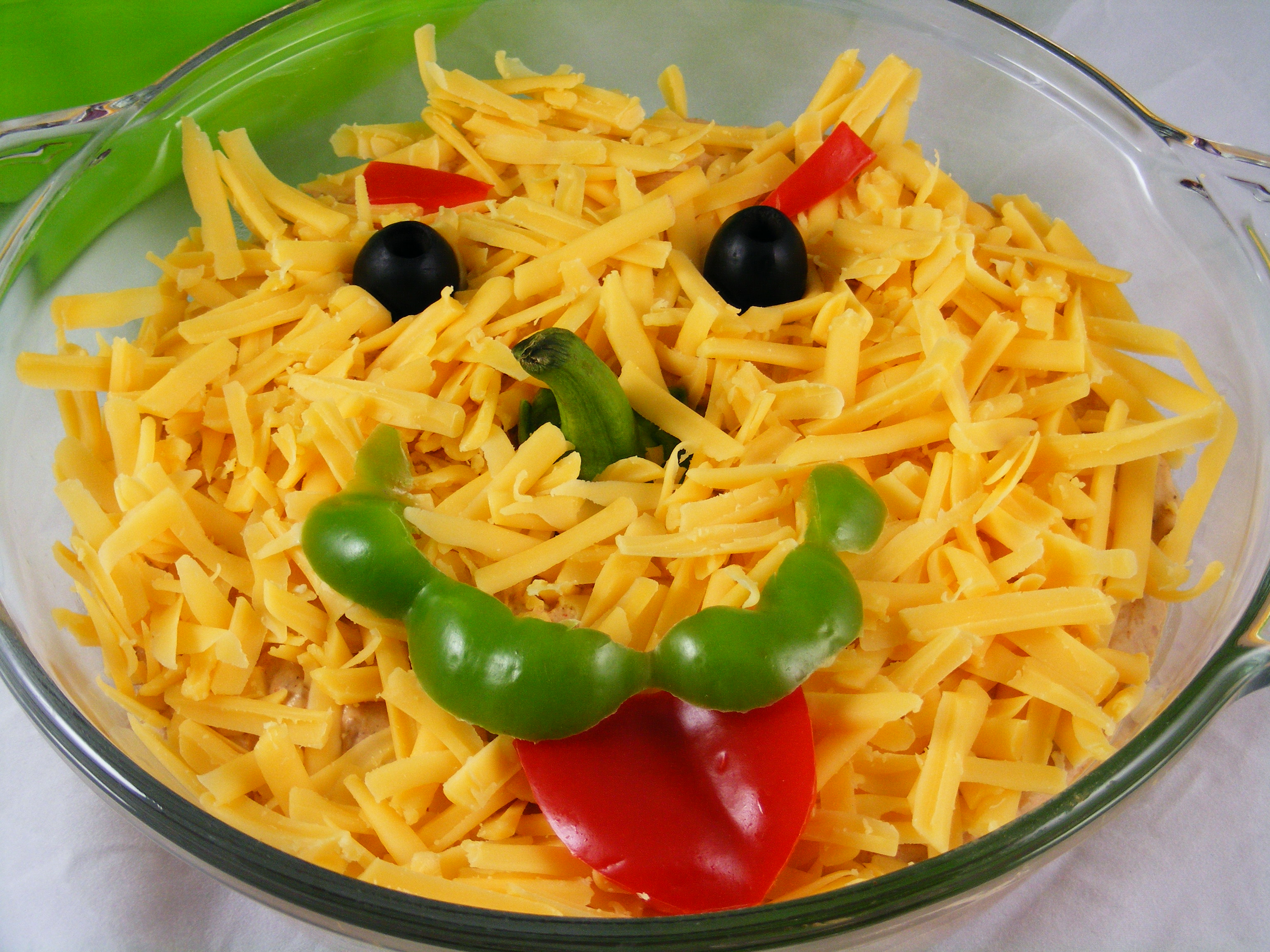 Halloween Bean Dip | The Meal Planning Mom Blog