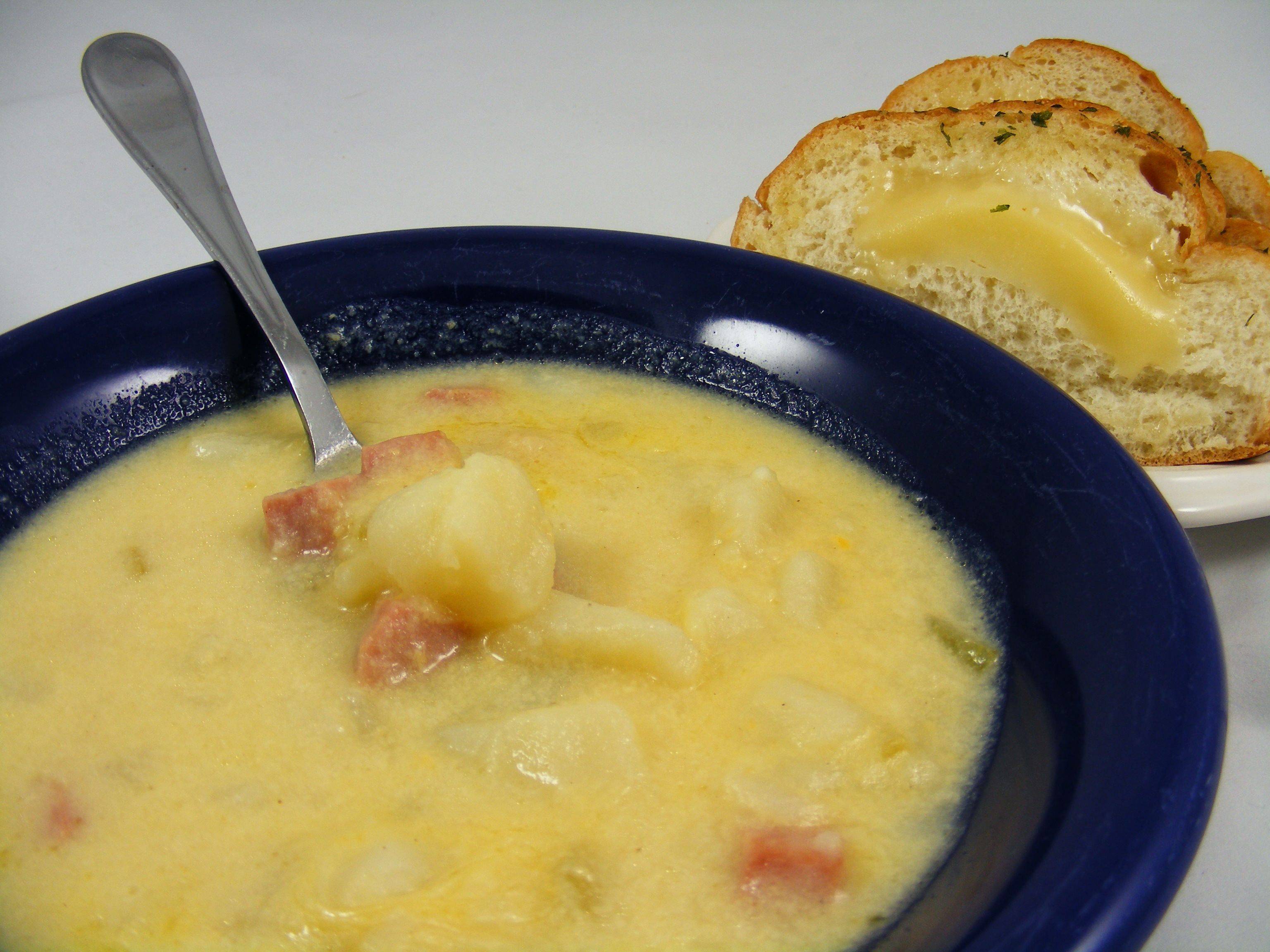 As Heard on WROK 4-23 Cheesy Ham and Potato Soup | The Meal Planning ...